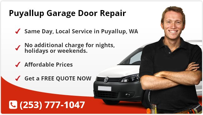 Puyallup Garage Door Repair